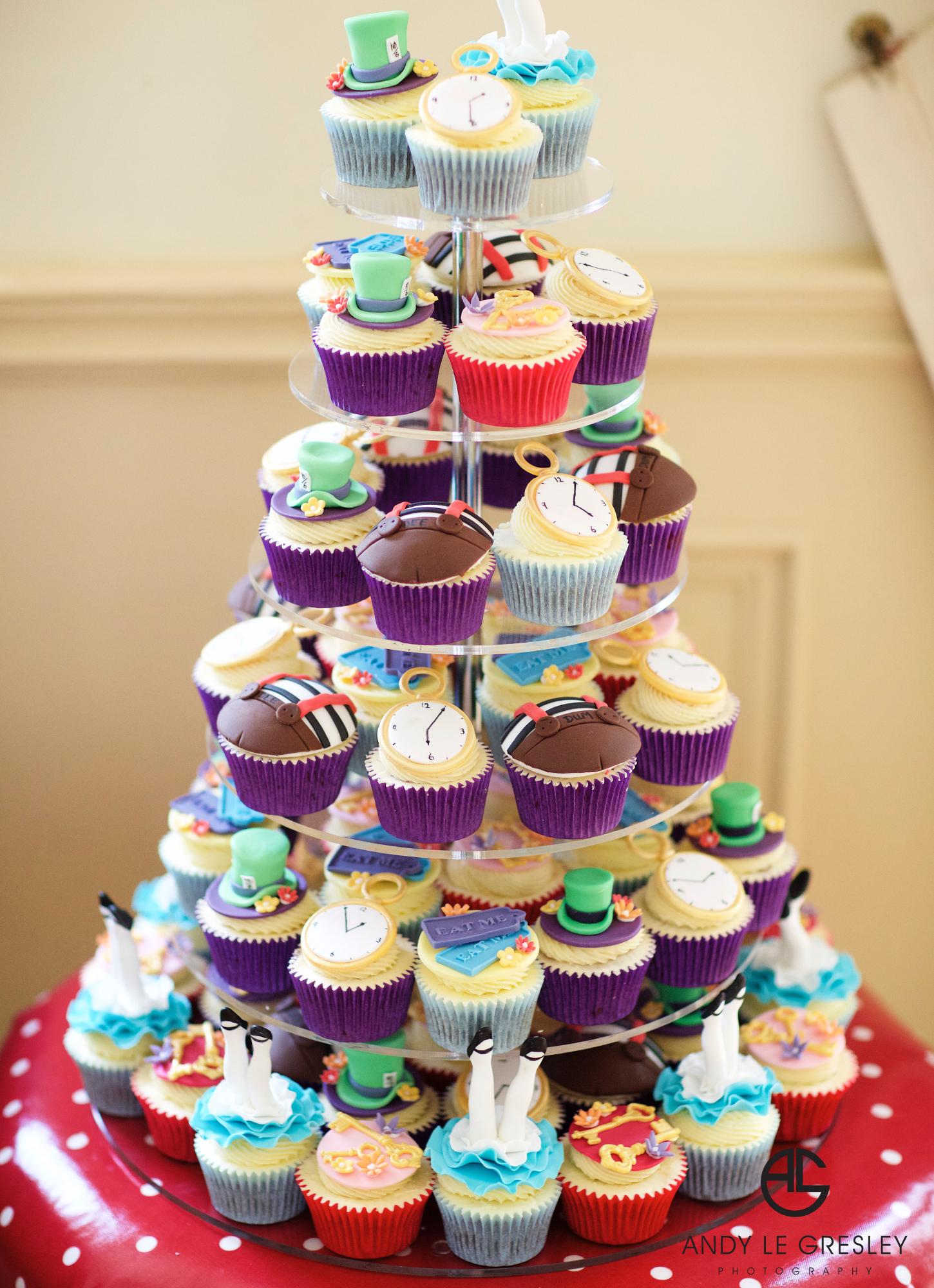 Bespoke Birthday Cupcake Tower - Pat a Cakes Jersey