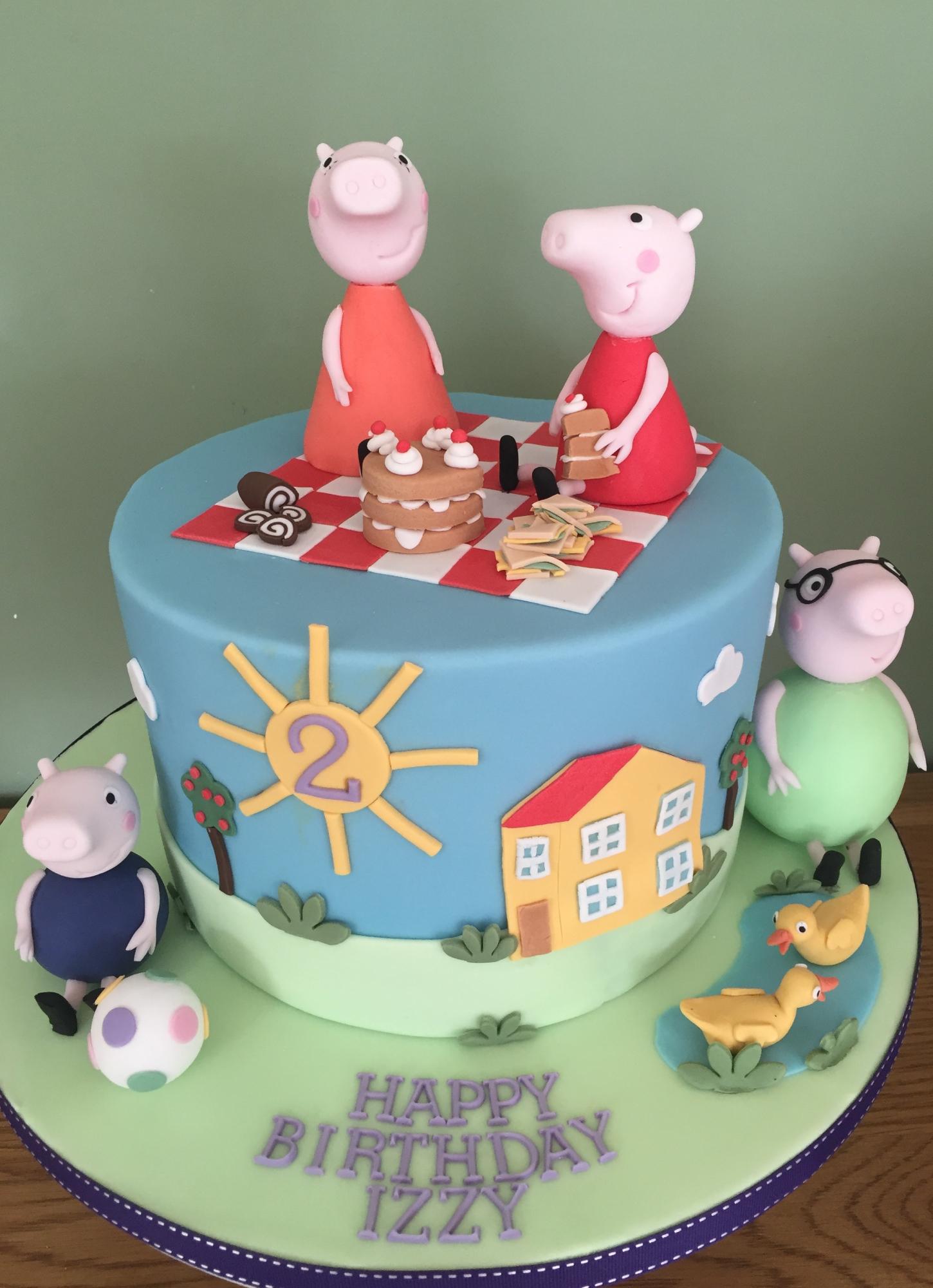 Bespoke Children's Birthday Cake - Pat a Cakes Jersey