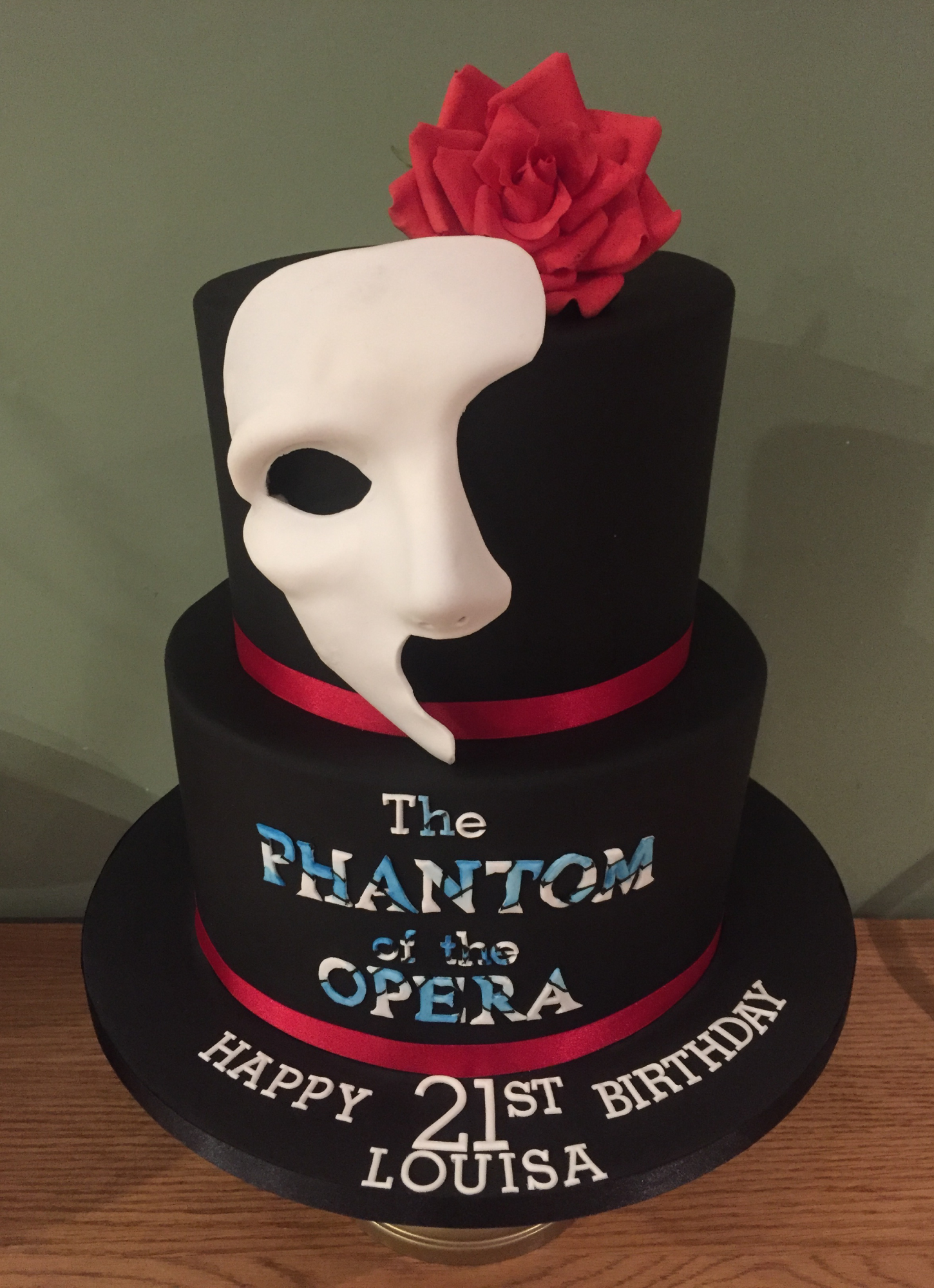 Bespoke 21st Birthday Cake - Pat a Cakes Jersey